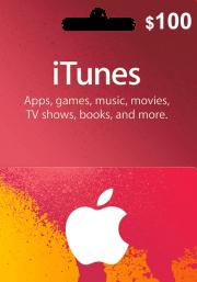 iTunes USA $100 Подарочная Карта