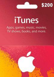iTunes USA 200 USD Подарочная Карта