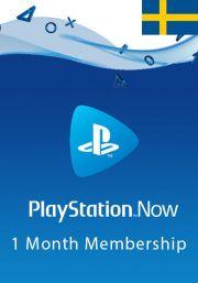 Sweden PlayStation Now: подписка на 1 месяц