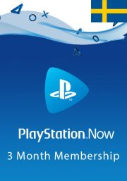 Sweden PlayStation Now: подписка на 3 месяц