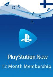 Финляндия PlayStation Now: подписка на 12 месяц