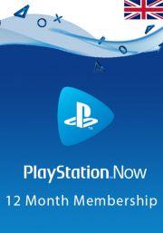 UK PlayStation Now: подписка на 12 месяцa