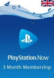 UK PlayStation Now: подписка на 3 месяцa