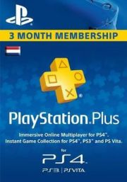 Нидерланды PSN Plus: подписка на 3 месяца