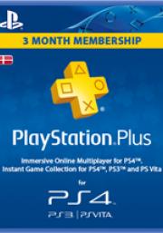 Дания PSN Plus: подписка на 3 месяца