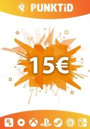 Punktid 15€ Подарочная Карта
