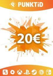 Punktid 20€ Подарочная Карта
