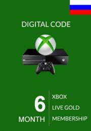 RUS Xbox Live: 6 месяца