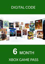 Xbox Game Pass: подписка на 6 месяца