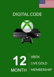 USA Xbox Live: 12 месяцев